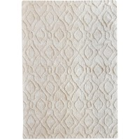 Uttermost 71154-5 Viver 96 X 60 inch Table Tufted Cotton Rug, 5ft x 8ft