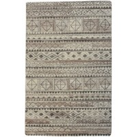 Uttermost 73089-5 Burgos 96 X 60 inch Hand Tufted Wool Rug, 5ft x 8ft